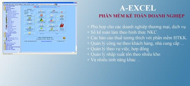 A-Excel - Phần Mềm Kế Toán Doanh Nghiệp